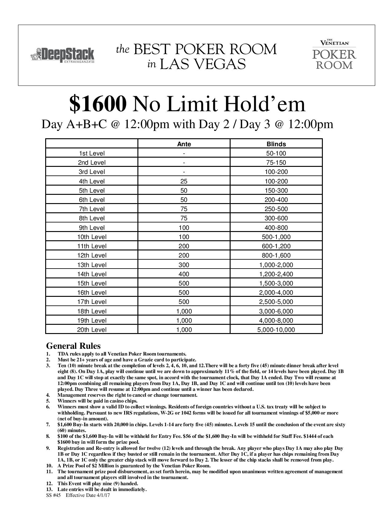 Dse Iii Nl Abc Page 001 Event Limit Holdem Guarantee Day